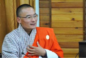 Bhutan's Prime Minister Tshering Tobgay.