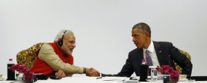 Barack Obama and Prime Minister Narendra Modi