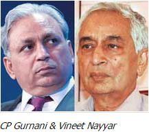 Vineet Nayyar and CP Gurnani